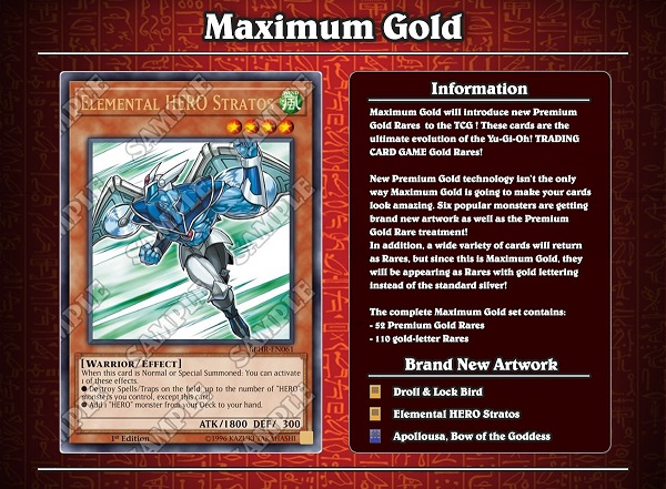 Maximum Gold Preorders