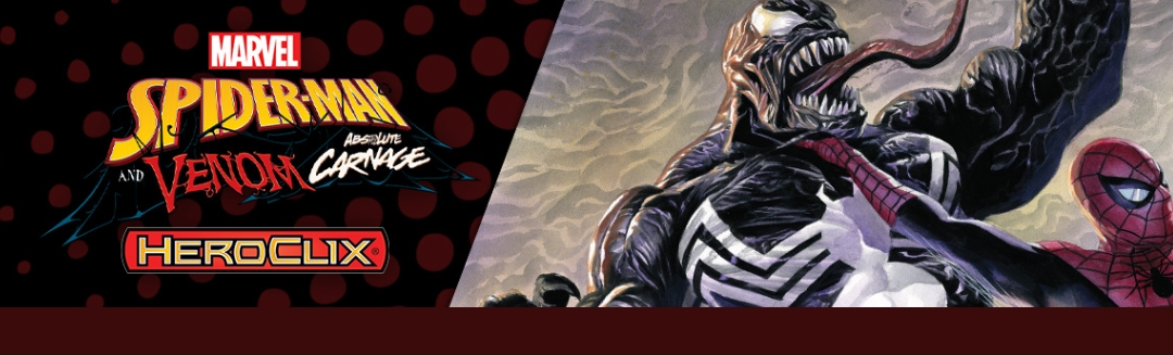 Heroclix Spider-Man and Venom Absolute Carnage Preorders